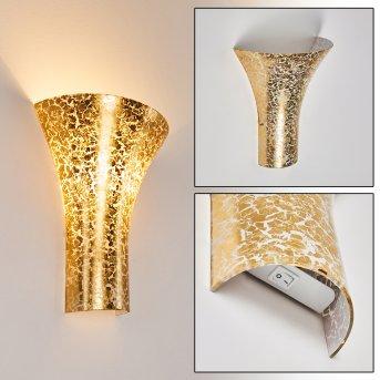 Nerola Wandleuchte Gold, 1-flammig