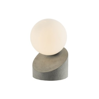 Nino Leuchten ALISA Tischleuchte LED Grau, 1-flammig