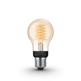Philips Hue LED White Filament E27 7 Watt 2100 Kelvin 600 Lumen