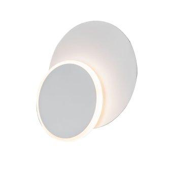WOFI SUTTER Wandleuchte LED Weiß, 1-flammig