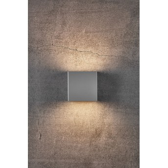 Nordlux TURN Außenwandleuchte LED Grau, 1-flammig