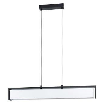 Eglo VALDELAGRANO Hängeleuchte LED Schwarz, 1-flammig, Farbwechsler
