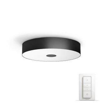 Philips Hue Ambiance White Fair Deckenleuchte LED Schwarz, 1-flammig, Fernbedienung