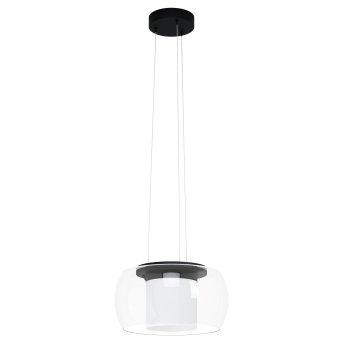 Eglo BRIAGLIA Hängeleuchte LED Schwarz, 1-flammig, Farbwechsler