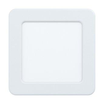 Eglo FUEVA Einbauleuchte LED Weiß, 1-flammig