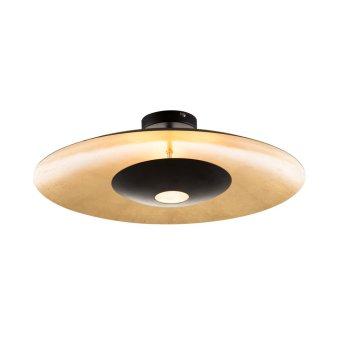 Nino Leuchten MINAS Deckenleuchte LED Schwarz, 4-flammig