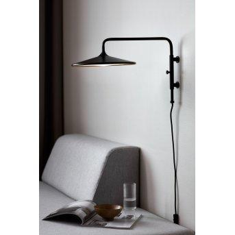 Nordlux BALANCE Wandleuchte LED Schwarz, 1-flammig