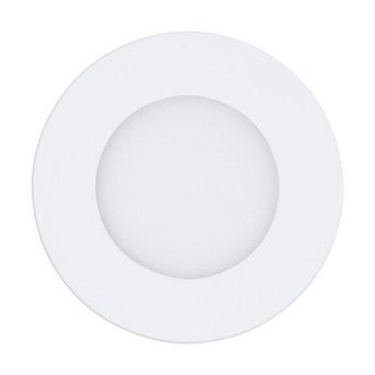 Eglo FUEVA-A Einbauleuchte LED Weiß, 1-flammig, Fernbedienung