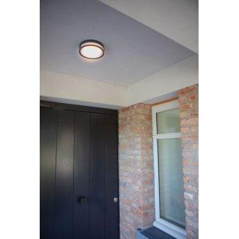 Lutec Rola Wandleuchte LED Anthrazit, 1-flammig
