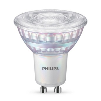Philips LED GU10 80 Watt 2700-2200 Kelvin 575 Lumen