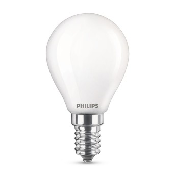 Philips LED E14 4,5 Watt 2700-2200 Kelvin 470 Lumen