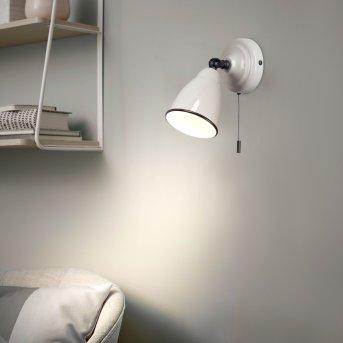 Brilliant Telio Wandleuchte Grau, Weiß, 1-flammig