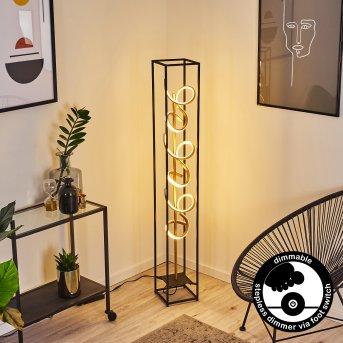 Pericos Stehleuchte LED Schwarz, 3-flammig