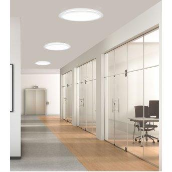 Mantra EDGE SMART Deckenleuchte LED Weiß, 1-flammig, Fernbedienung