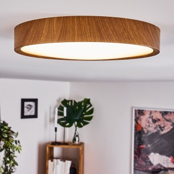Nexo Deckenleuchte LED Holz dunkel, 1-flammig