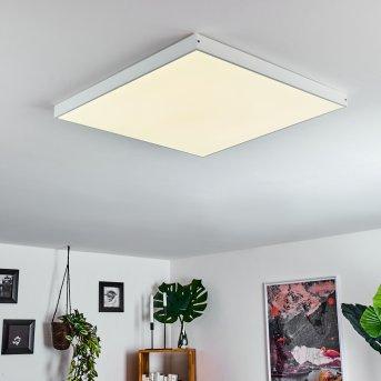 Pedemonte LED Panel Weiß, 1-flammig