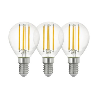 Eglo 3er Set LED E14 4 Watt 2700 Kelvin 470 Lumen