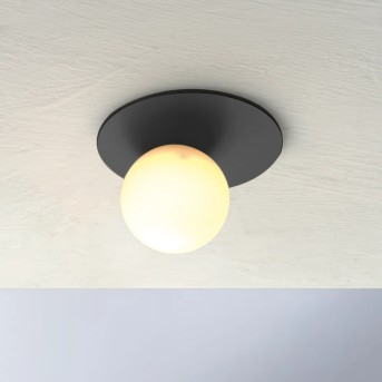 Bopp Leuchten PLANETS Deckeneinbauleuchte LED Anthrazit, 1-flammig
