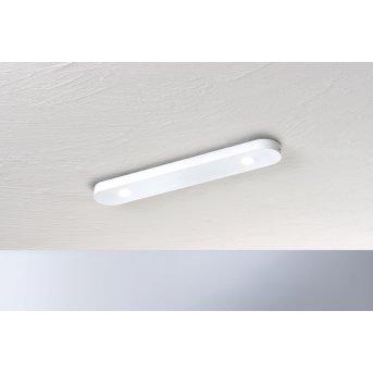 Bopp Leuchten CLOSE Deckenleuchte LED Weiß, 2-flammig