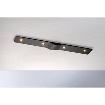 Bopp Leuchten WAVE Deckenleuchte LED Schwarz, 4-flammig