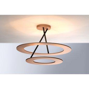Bopp Leuchten STELLA Deckenleuchte LED Kupfer, Rosa, 9-flammig