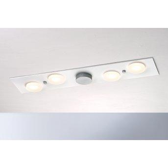 Bopp Leuchten PLANETS ONE Deckenleuchte LED Silber, Weiß, 4-flammig