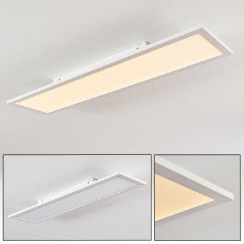 Salmi Deckenleuchte LED Weiß, 1-flammig