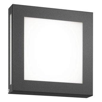 CMD AQUA LEGENDO Außenwandleuchte LED Anthrazit, 1-flammig, Bewegungsmelder