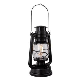 Globo CERTALDO Außentischleuchte LED Schwarz, 1-flammig
