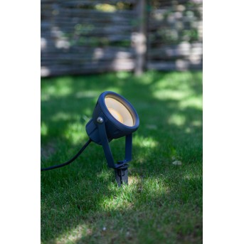 Lutec MINI LETO Erdspieß LED Anthrazit, 1-flammig, Farbwechsler