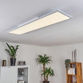 Pau LED Panel Weiß, 1-flammig