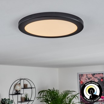 Canditas LED Panel Schwarz, 1-flammig