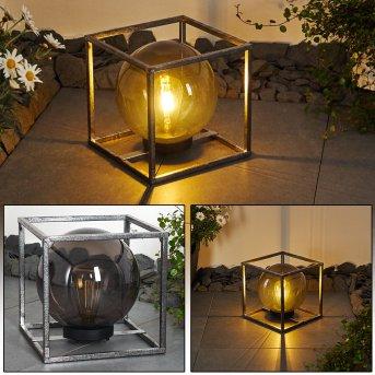 Albuquerque Solarleuchte LED Silber, 1-flammig