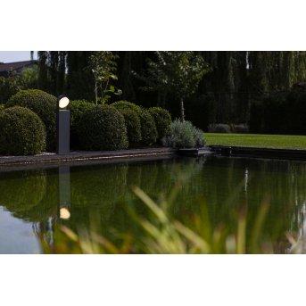 Lutec Fele Wegeleuchte LED Anthrazit, 1-flammig