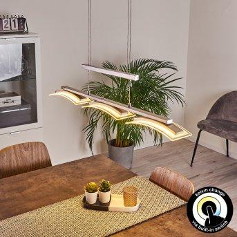 Bolonda Pendelleuchte LED Nickel-Matt, 3-flammig