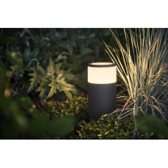Philips Hue Calla Sockelleuchte Basis Set LED Schwarz, 1-flammig, Farbwechsler