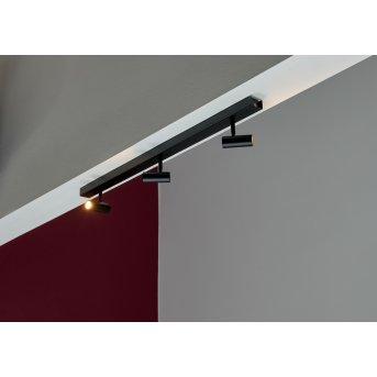 Nordlux OMARI Deckenleuchte LED Schwarz, 3-flammig