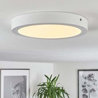 Finsrud Deckenleuchte LED Weiß, 1-flammig