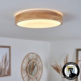 Samaira Deckenleuchte LED Weiß, 1-flammig