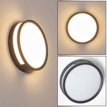 Chiavari Außenwandleuchte LED Anthrazit, 1-flammig