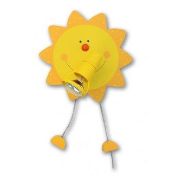 Waldi Wandleuchte Sonne Gelb, 1-flammig