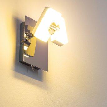 Turin Wandspot LED Chrom, 1-flammig