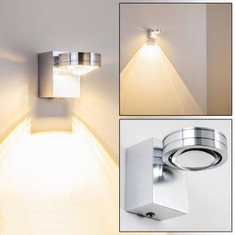 Florenz Badleuchte LED Aluminium, 1-flammig