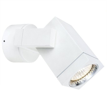 KS Verlichting Cubic Wandleuchte Weiß, 1-flammig