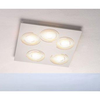 Bopp GALAXY COMFORT Deckenleuchte LED Aluminium, 5-flammig
