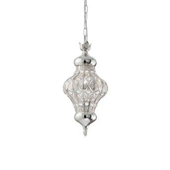Ideal Lux NAWA Hängeleuchte Silber, 1-flammig