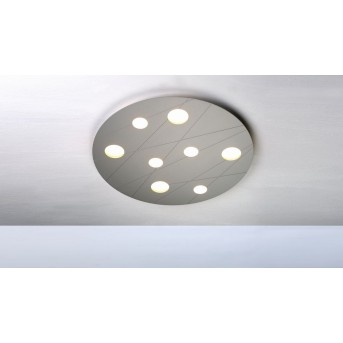Bopp GRAFICO Deckenleuchte LED Aluminium, 8-flammig