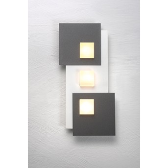 Bopp PIXEL 2.0 Wandleuchte LED Weiß, 3-flammig