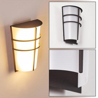 Lamarche Außenwandleuchte LED Anthrazit, 2-flammig