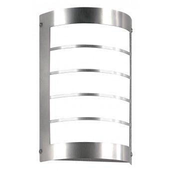 CMD AQUA MARCO Außenwandleuchte LED Edelstahl, 1-flammig